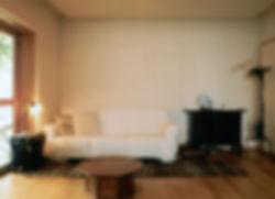 藤ノ木台の家 改装 リフォーム 住宅 1階 増築 RC コンクリート造 木造 関西 奈良県 奈良市 和モダン シンプル リビング 自然素材 和紙貼りの壁 建築家 インテリア