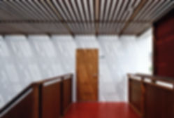 Domus Ishigaki 新築 共同住宅 アパート 2階建 RC コンクリート造 木造 大分県 別府市 シンプル モダン 廊下