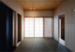 白川の家 新築 住宅 2階建 木造 大阪府 茨木市 シンプル 和モダン 和室