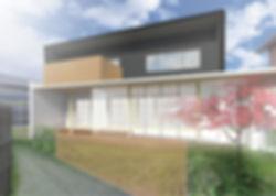 HouseO 新築 住宅 2階建 木造 京都府 綴喜郡 シンプル 和モダン 外観