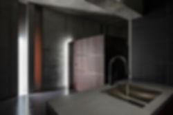 ao bldg 新築 ビル 住宅 4階建 RC コンクリート造 コンクリート打放し 関西 兵庫県 芦屋市 シンプル モダン ダイニング キッチン 造作 オーダー