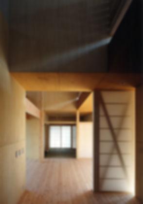 白川の家 新築 住宅 2階建 木造 大阪府 茨木市 シンプル 和モダン 室内