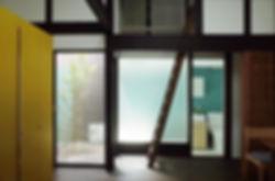 大心院の家 改装 リノベーション リフォーム 住宅 町家 2階建 木造 関西 京都府 京都市 シンプル 和モダン 庭 リビング ダイニング デザイナーズ 自然素材
