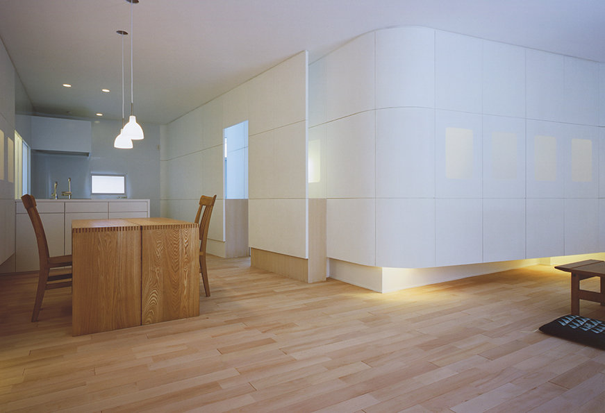 甲子園の家 改装 リフォーム 住宅 1階 関西 兵庫県 西宮市 シンプル モダン ダイニング キッチン 明るい おしゃれな空間 デザイナーズ 建築家 介護 自然素材 明るい おしゃれな空間 デザイナーズ 建築家 介護 自然素材