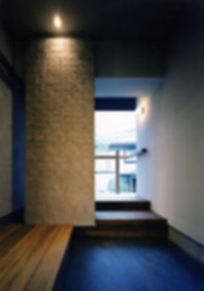 新芦屋の家 新築 住宅 2階建 木造 大阪府 吹田市 シンプル 和モダン 玄関