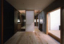 八木の家 新築 住宅 2階建 木造 京都府 船井郡 シンプル 和モダン 室内 デッキ