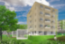 URHa 共同住宅 マンション 改装 リフォーム 5階建て RC コンクリート造 東京都 足立区 シンプル ナチュラル 外観