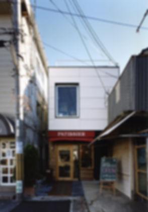 EST!EST!EST! 店舗 ケーキ屋 改装 1・2階 鉄骨造 京都府 向日市 外観