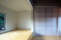 紫野の家 改装 リノベーション リフォーム 住宅 町家 2階建 木造 京都府 京都市 シンプル 和モダン ナチュラル 寝室 自然素材 落ち着きのある 明るい 建築家