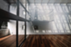 Domus Ishigaki 新築 集合住宅 アパート 2階建 RC コンクリート造 木造 大分県 別府市 シンプル モダン デッキ バルコニー トップライト デザイナーズ