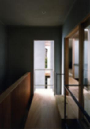 八木の家 新築 住宅 2階建 木造 京都府 船井郡 シンプル 和モダン 廊下