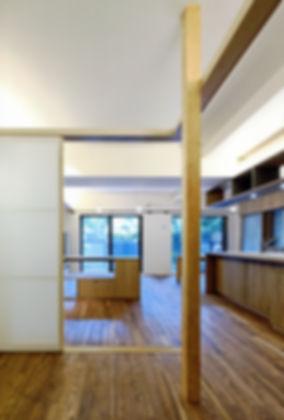 深江の家 改装 リフォーム 住宅 マンション 1階 RC コンクリート造 兵庫県 神戸市 シンプル ナチュラル モダン LDK 関西  自然素材 珪藻土