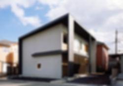 桜ヶ丘の家 新築 住宅 2階建 木造 関西 京都府 綾部市 シンプル 和モダン 外観 自然素材