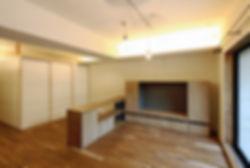 深江の家 改装 リノベーション リフォーム 住宅 マンション 1階 RC コンクリート造 関西 兵庫県 神戸市 シンプル ナチュラル モダン リビング 自然素材 珪藻土