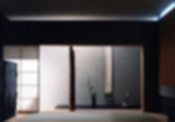 藤ノ木台の家 改装 リノベーション リフォーム 住宅 1階 増築 RC コンクリート造 木造 関西 奈良県 奈良市 和モダン シンプル 和室 床の間 落ち着きのある空間 建築家 床柱に竹を使った 茶室 光が差し込む 自然素材