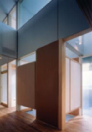 桜ヶ丘の家 新築 住宅 2階建 木造 京都府 綾部市 シンプル 和モダン 玄関