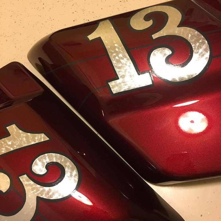 Silver leaf numbers