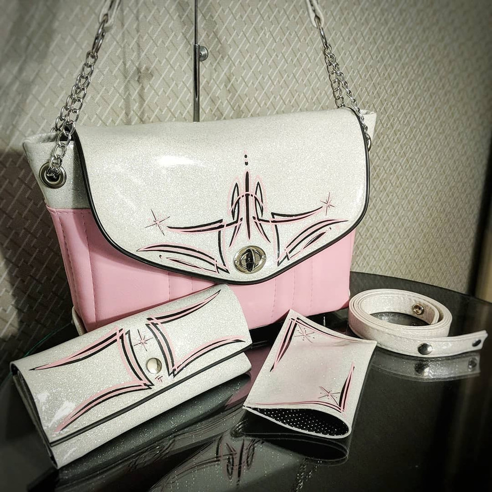 Femme Fatale pink set