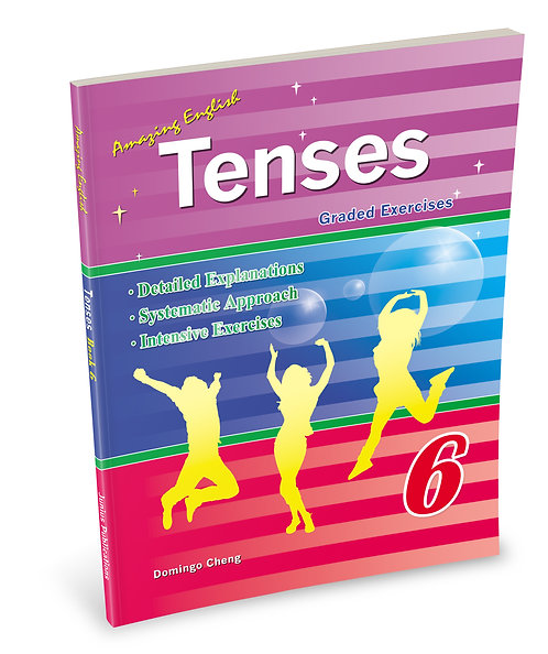 Amazing English Tenses - Book 6
