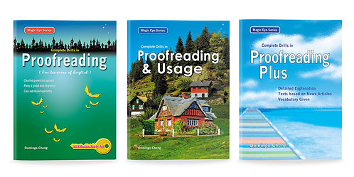 Complete Drills in Proofreading Bundle