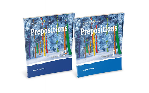 English in Motion Prepositions Set