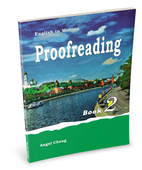 English in Motion Proofreading Book 2