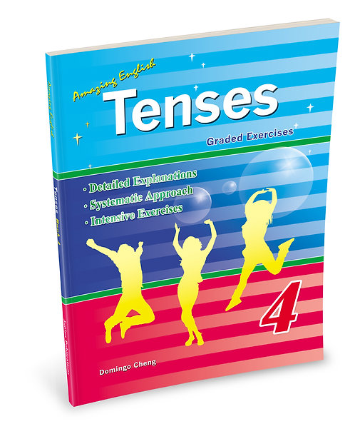 Amazing English Tenses - Book 4