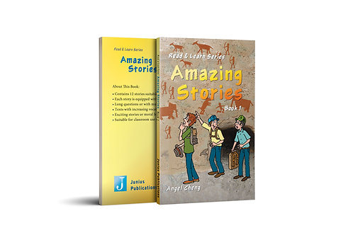 Read & Learn Series Amazing Stories Book 1
