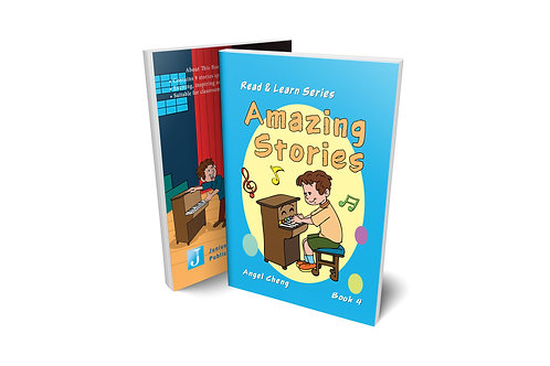 Read & Learn Series Amazing Stories Book 4