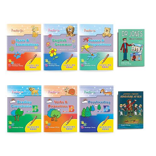 Primary 6 Practice & Reading Kit