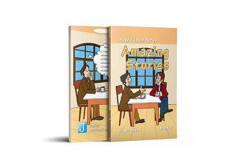 Read & Learn Series Amazing Stories Book 3