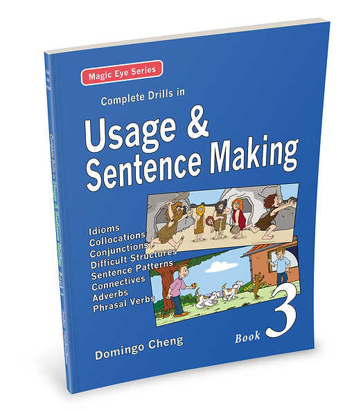 Complete Drills in Usage & Sentence Making Book 3