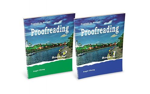 English in Motion Proofreading Set