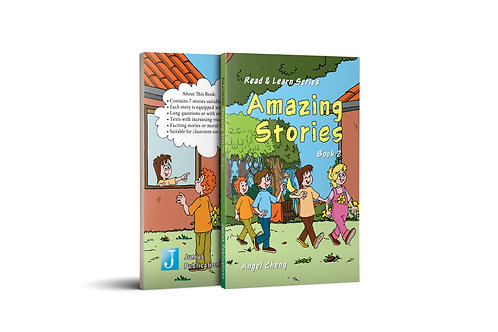 Read & Learn Series Amazing Stories Book 2