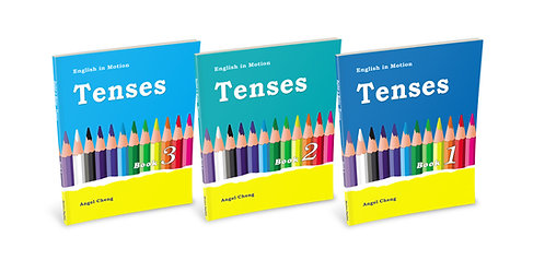 English in Motion Tenses Set