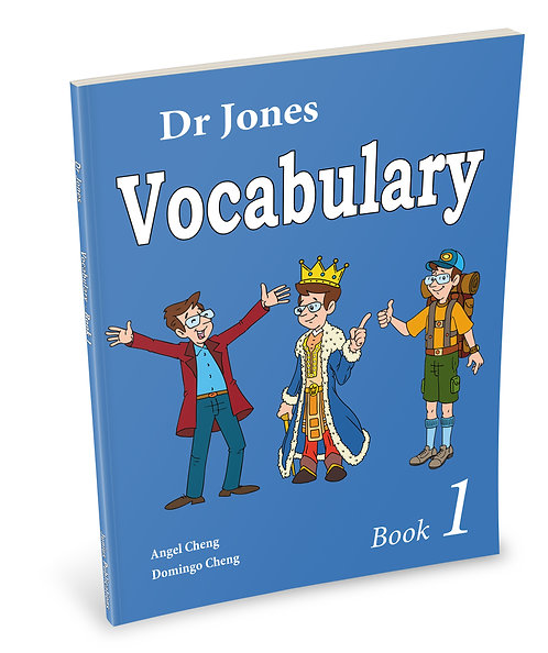 Dr Jones Vocabulary Book 1