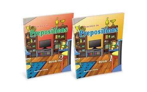 Practice in Prepositions Set