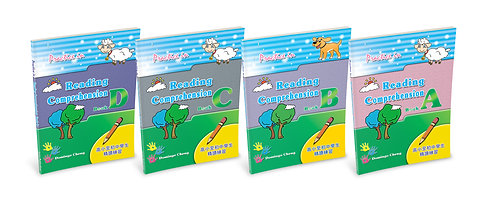 Practice in Reading Comprehension Bundle