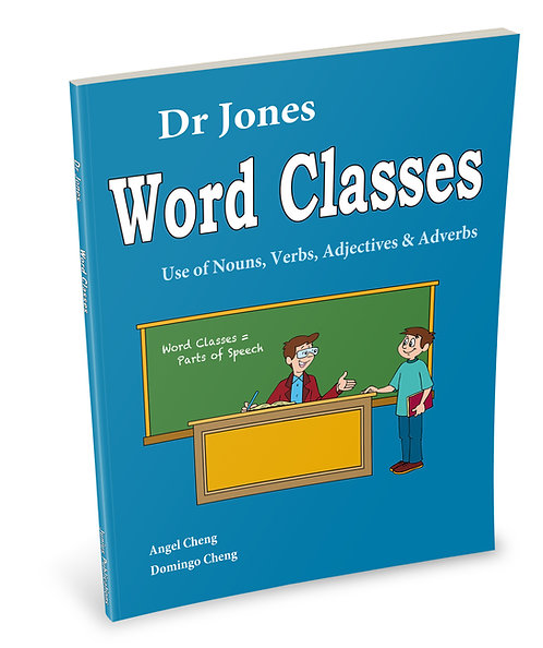 Dr Jones Word Classes