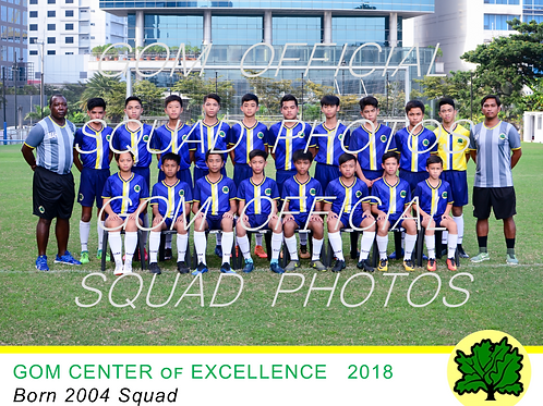 2004 OFFICIAL SQUAD PHOTO 2018