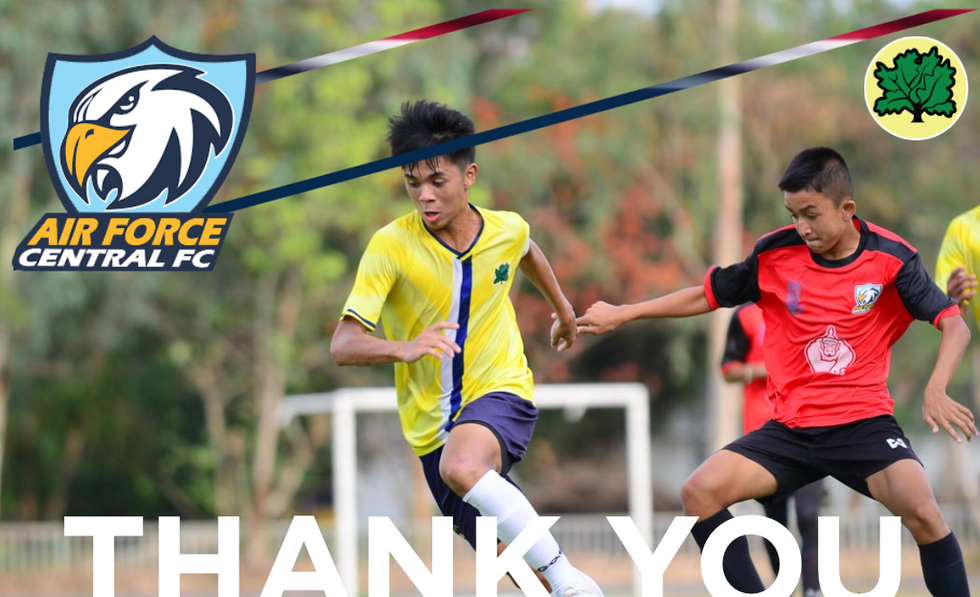 THANK YOU AIR FORCE CENTRAL U15s 2019.pn