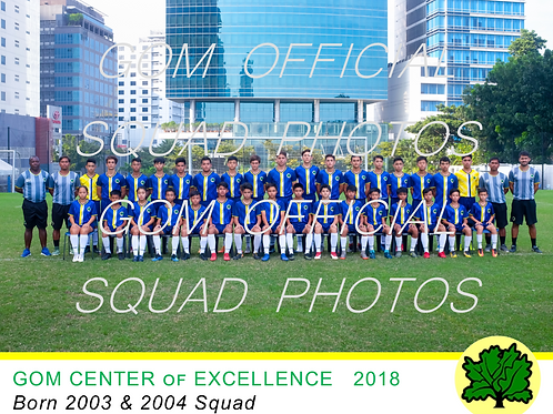 2003 & 2004 OFFICIAL SQUAD PHOTO 2018
