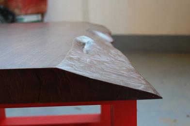 tavolino da soggiorno decorato