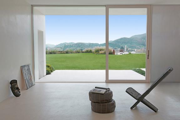 Sistemi scorrevoli per porte in vetro imago