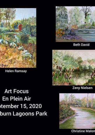 En Plein Air on Sept 15, 2020