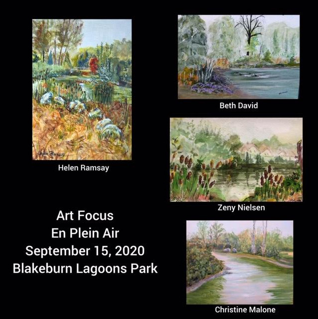 En Plein Air on Sept 15, 2020