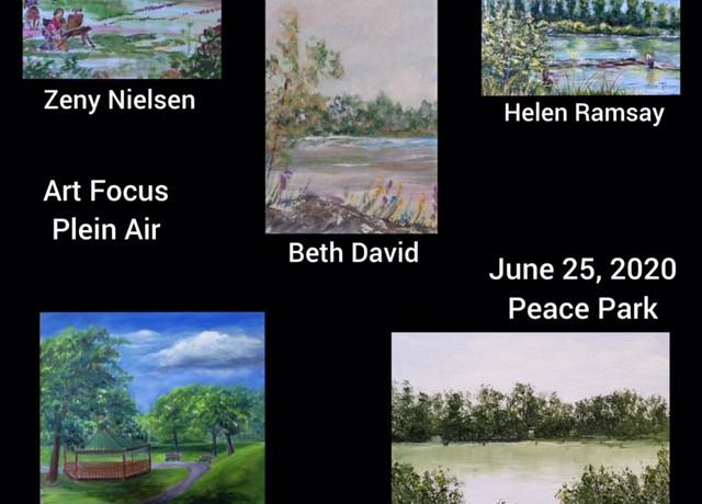 Plein Air June 25, 2020