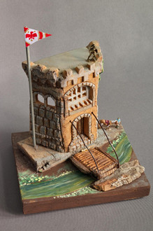 Castle Keep With Drawbridge