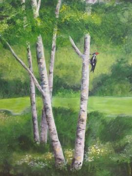 Close Up Of Mural - Bird
