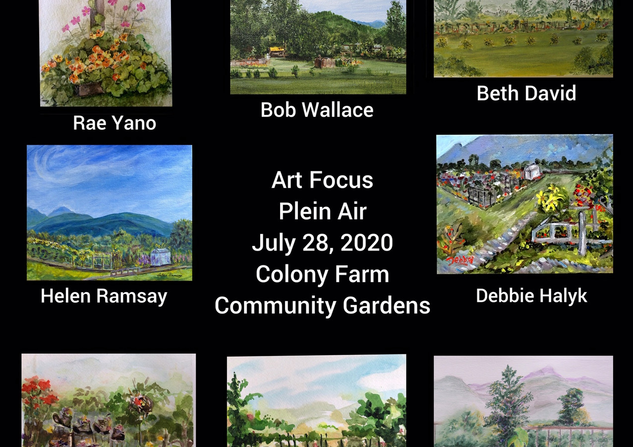 Plein Air on July 28, 2020